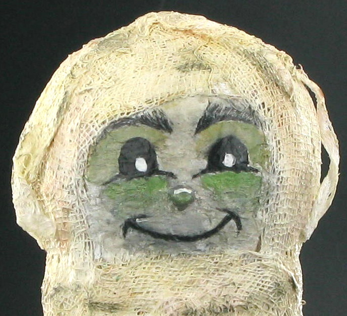Vintage horror character : The Mummy