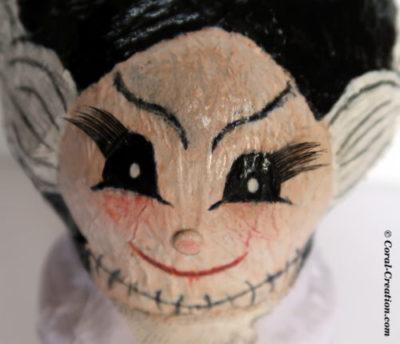 Vintage horror characters : The bride of Frankenstein (1935)