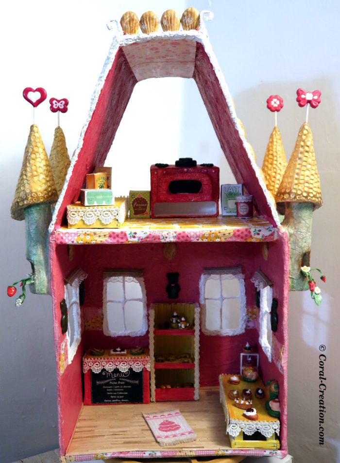 The magical bakery : Inside decors
